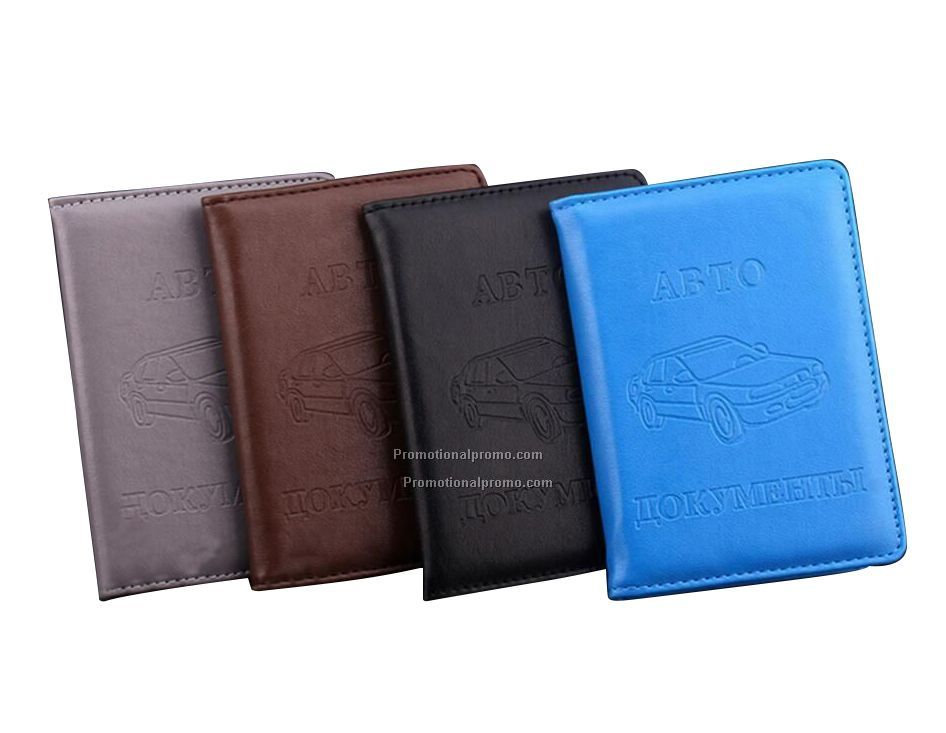 Driver License Bag and card holder with PU Leather on Cover