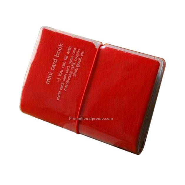 Credit card holder book