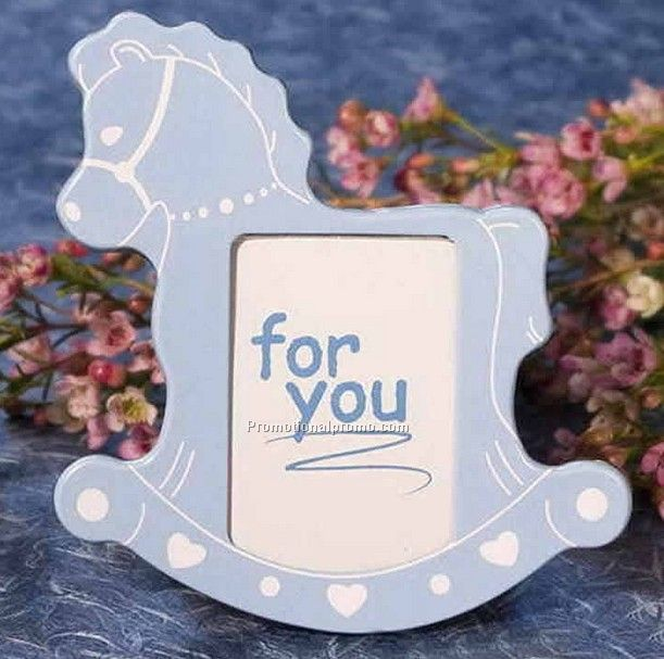 Baby Boy Horse Photo Frame