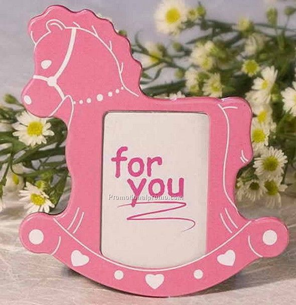 Baby Girl Horse Photo Frame