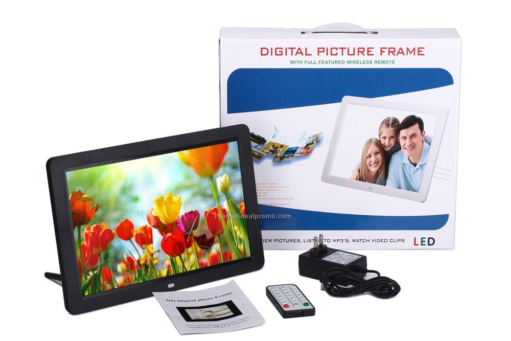 Electronic gift set digital photo frame
