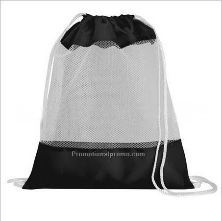 Direct sale Sports rope mesh drawstring bag