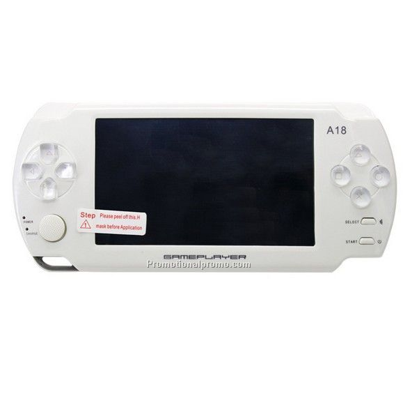 Handheld video game player