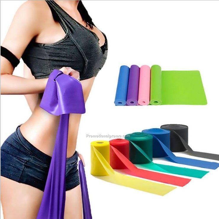 TPE home training Yoga elastic latex resistance bands