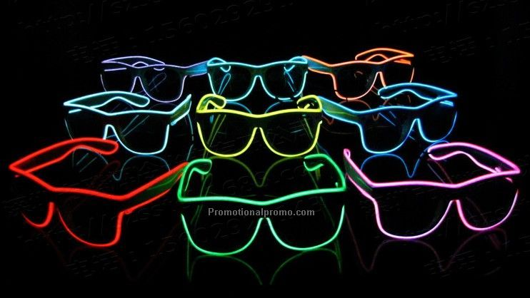 Wholesale LED Flashing Party Glasses, Party Flashing Led Light Sunglasses