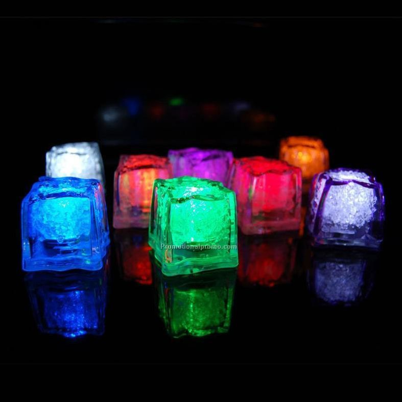 Promotional LED flashing Ice Cubes for Wedding Decorative Lights and party event