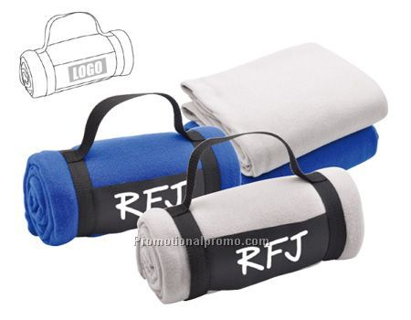 Polar Fleece Soft Material Travelling Blanket