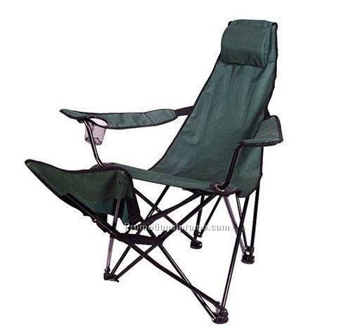 Beach Chair with Cup holder, Folding Chair with Armrest