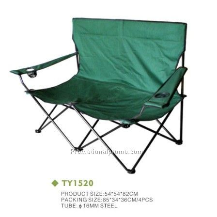 Outdoor Camping Double People Folding Chair Foldable Beach China Whole