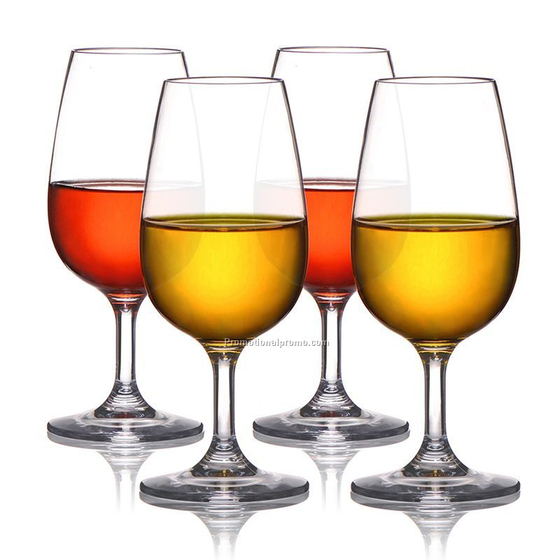 100% Tritan unbreakable wine glass cups