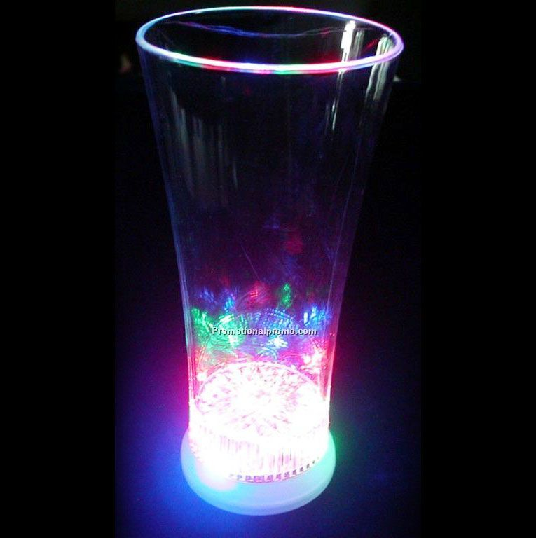 Plastic LED Glow cup, LED flashing cup