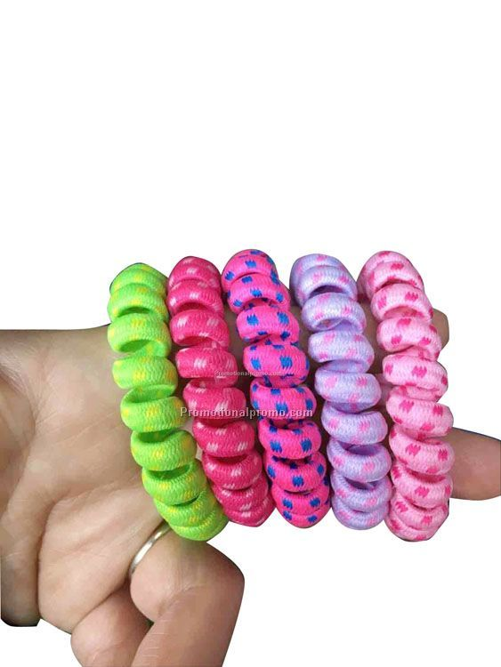 Telephone line hair ring
