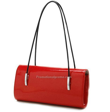 bright color handbag