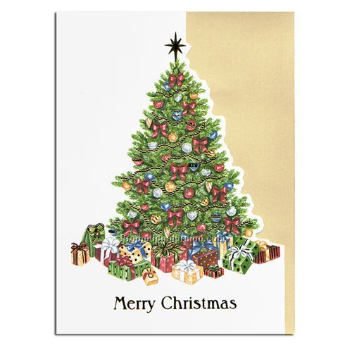holiday card christmas tree - Christmas Tree Card
