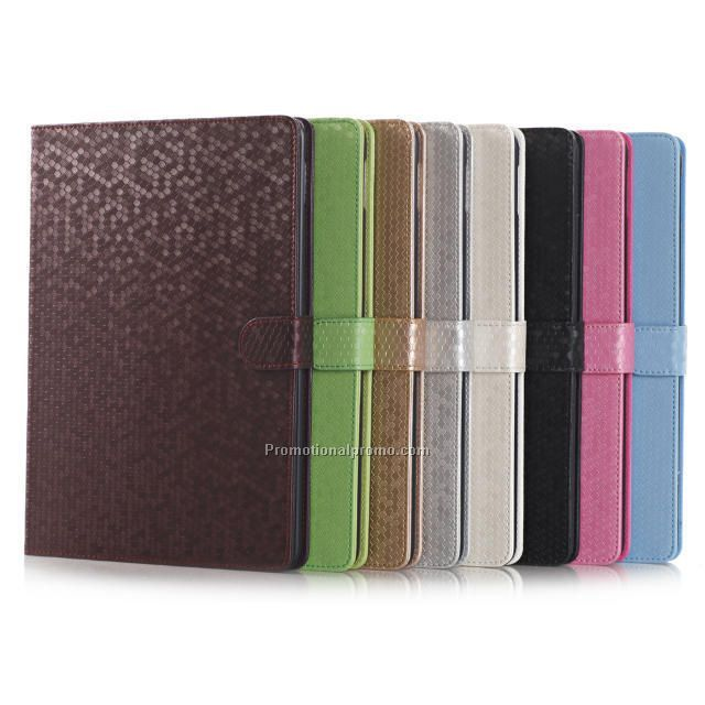 Plug-in card leather bracket case for ipad air2
