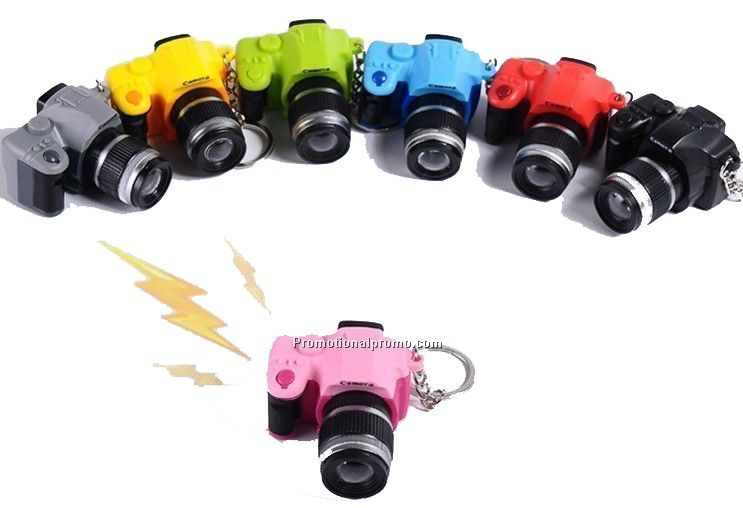 Simulation SLR camera LED Key Chain, MINI Key Chain Camera