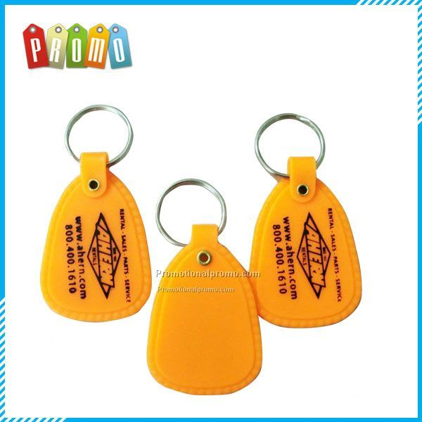 Customized cheap PE key tag