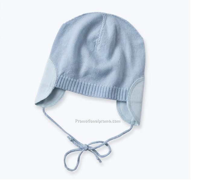 4b7ad5a5ff7b sky blue baby earflap hat China Wholesale