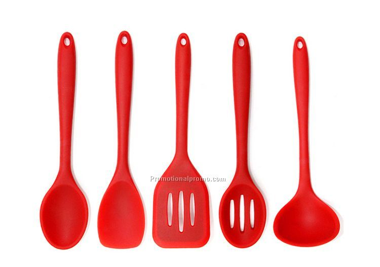 5 Pieces siliocne baking utensil set