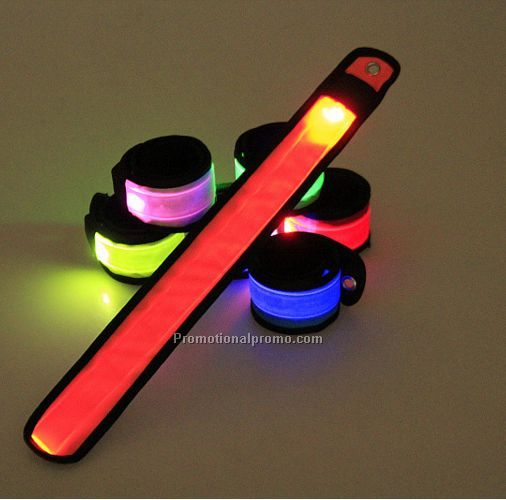 LED Nylon Fluorescence Safety Bracelet/wristband/Armband