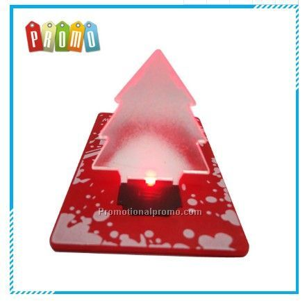 Christmas tree led card