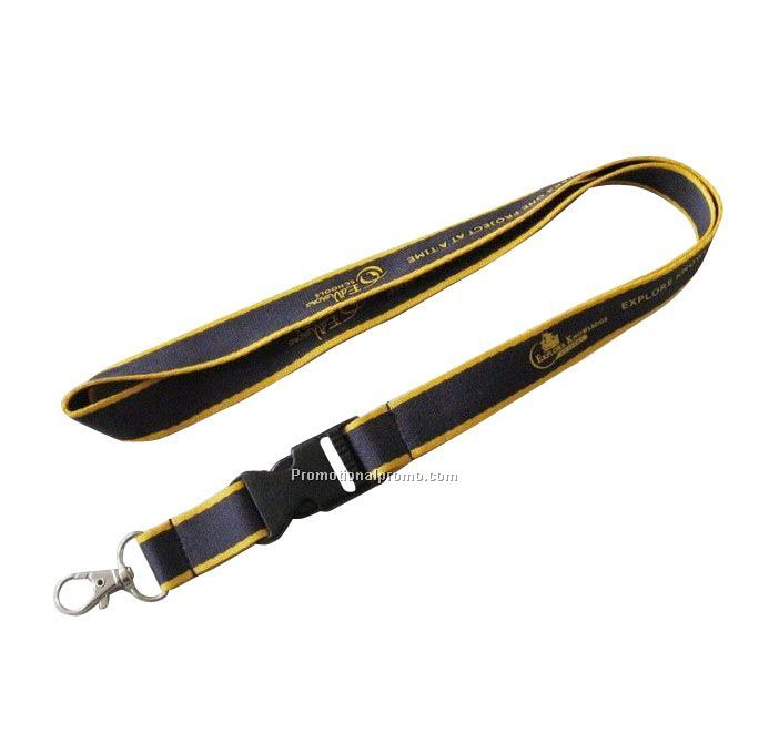 Promotional Woven Lanyards