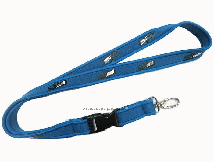 Customized Neoprean Lanyard, Customized Neoprene Lanyard
