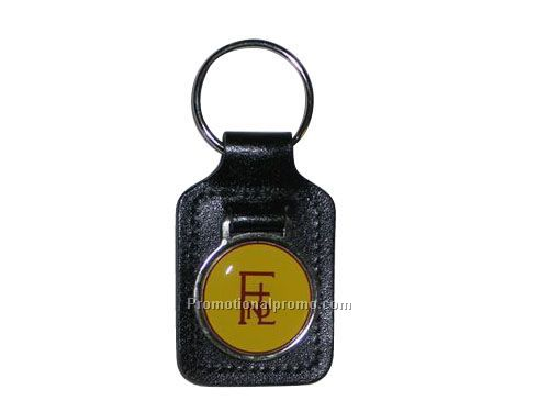 LARGE RECTANGULAR ACRYLIC MEDALLION KEY FOBS