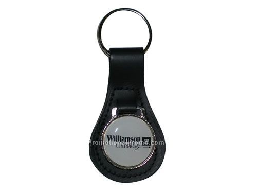 LARGE TEAR SHAPED ACRYLIC MEDALLION KEY FOBS