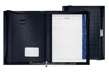 MARKSMAN LEATHER TOUCH A4 ZIPPER PORTFOLIO