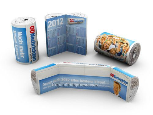 Promotional Printed Magic Can Calendar