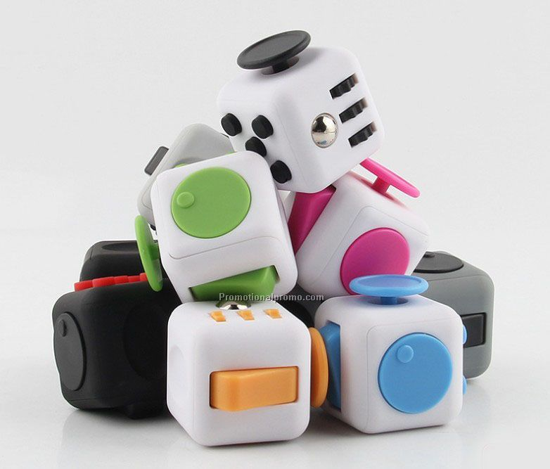 Hot Anti Stress Fidget Cube, Stress Relieves Fidget Toys
