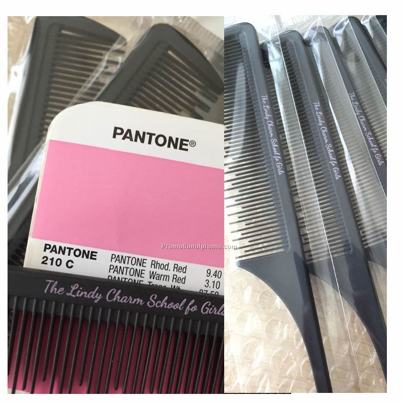 Customized logo comb