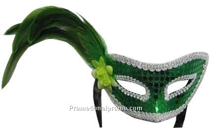 Feather Sequins Party Masks