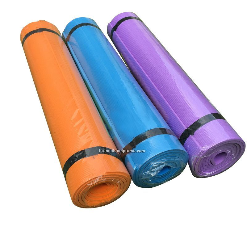 Promotional colorful yoga mat