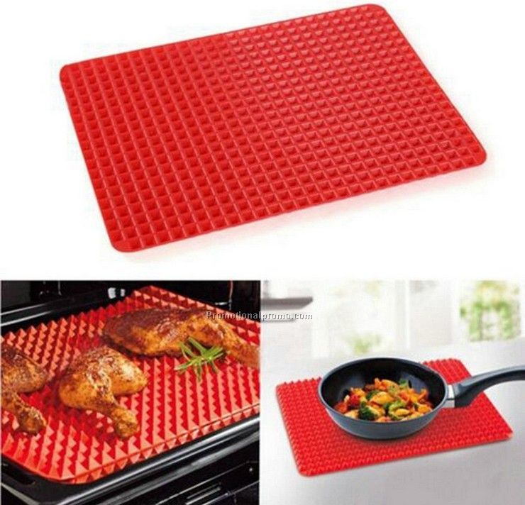 Food Grade Silicone Non-stick Cooking Baking Mat, BBQ Silicone Baking Pad