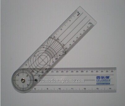 PVC foot ruler, folded ruler,Goniometer