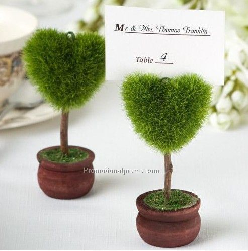 Polular Resin Topiary Place Card Holder