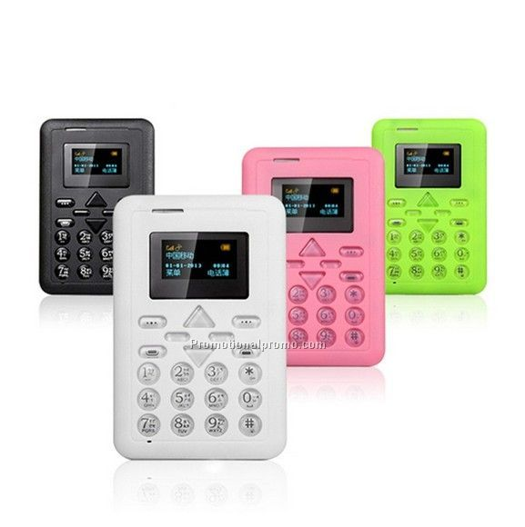 Mini card phone