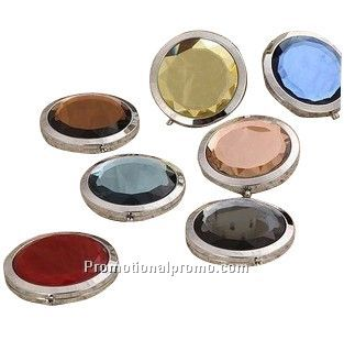 promotional crystal compact mirror