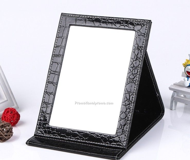 High quality folding travel mirror