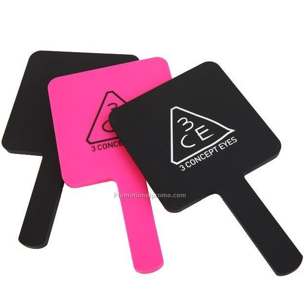 Promotional Customized Logo Plastic Make Up Mirror