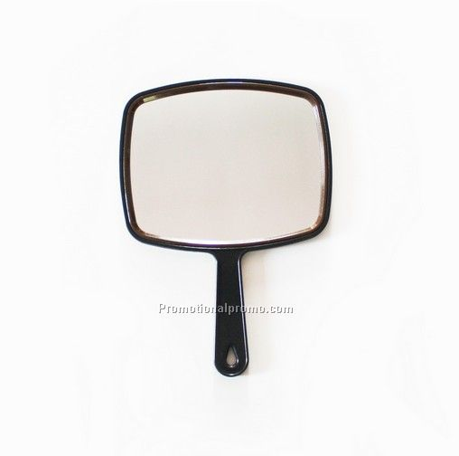 Fashion Customized Logo Plastic Handle Mirror