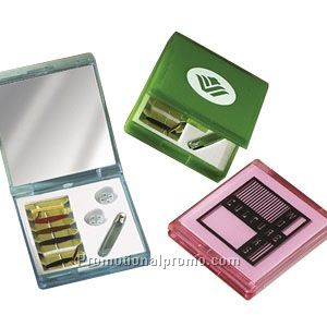 Translucent Sewing Kit And Mirror