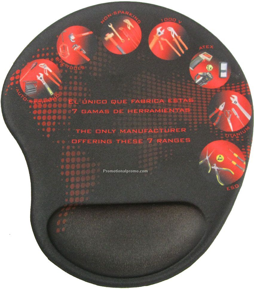 Wrist protective mouse pad OEM