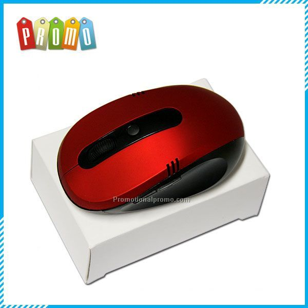 red color mini 2.4g wireless optical mouse driver with matt surface