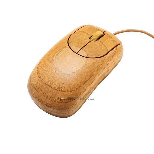 OEM bamboo wood mouse