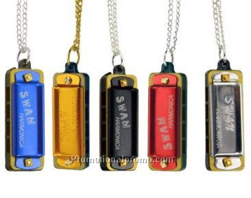 OEM logo Mini Harmonica Necklace