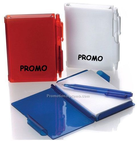 Hot Sale Cheap Translucent Mini Notepad With Pen