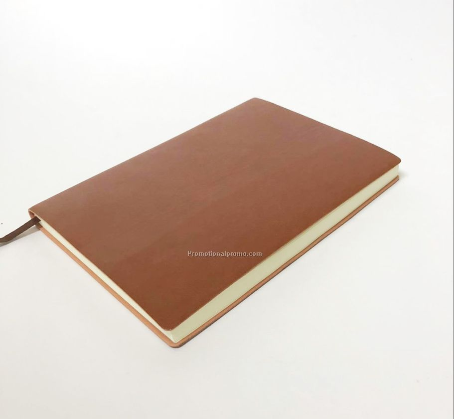 Soft PU leather notebook with customized logo